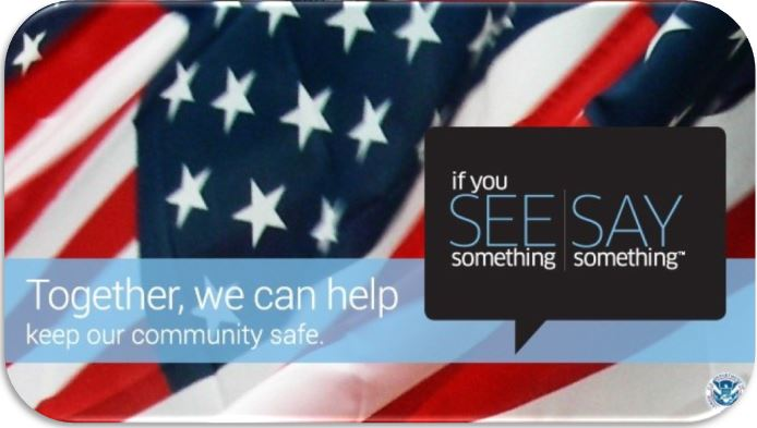 If you See something Say something image link